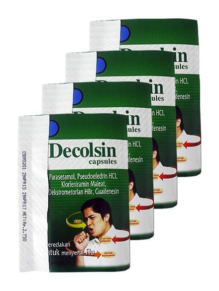 DECOLSIN @4 Kps (5 Strip)