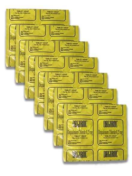 DEGIROL Loz Lemon @ 4 Tablet (7 Strip)