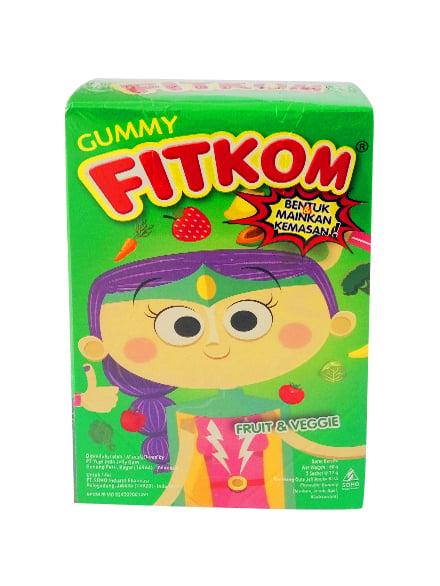 FITKOM Gummy Frt&Vg 60 Gram