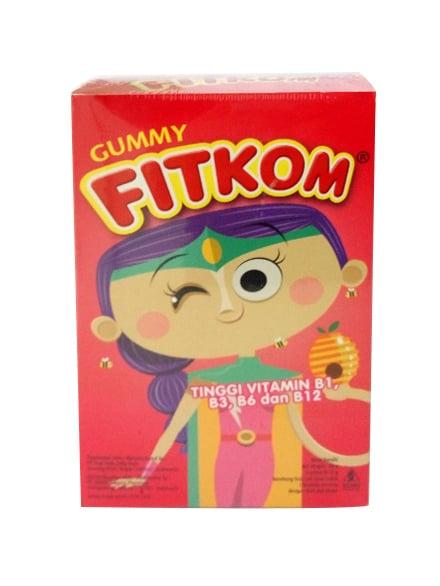 FITKOM Gummy GO 60 Gram