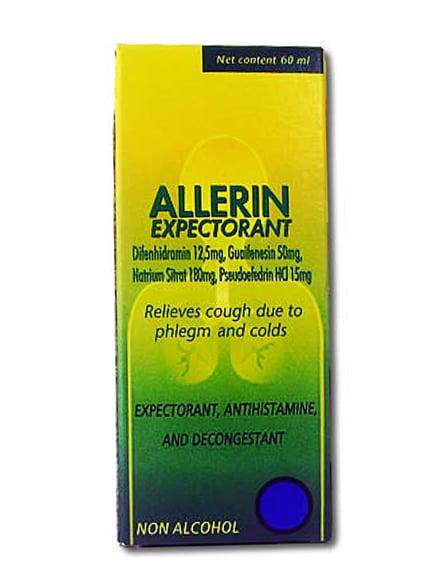 Allerin Expectorant 60 ML