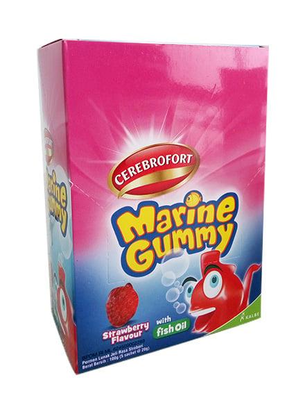 Cerebrofort Marine Gummy Strawberry