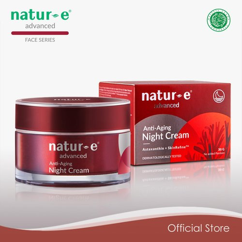 Natur E Advance Anti Aging Night Cream 30 Gr