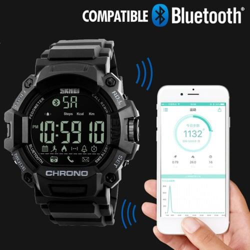 SKMEI Jam Tangan Smart Watch Bluetooth Original 186