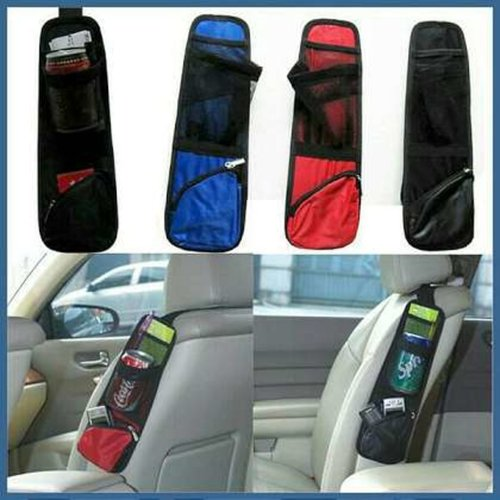 Tas Organizer Mobil Chair Side Pocket Kantong Jok Kursi Holder Bag Car