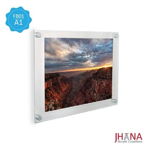 Acrylic Frame A1 / Poster Akrilik / Akrilik Dinding / Bingkai Foto FB01A1