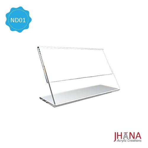 Acrylic Name Desk 01 S / Akrilik Papan Nama / Nama Meja ND01S
