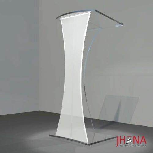 Podium Akrilik PD01 / Mimbar Akrilik/ Acrylic Lectern