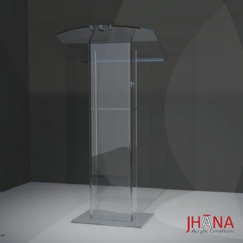 Podium Akrilik PD11 / Mimbar Akrilik/ Acrylic Lectern