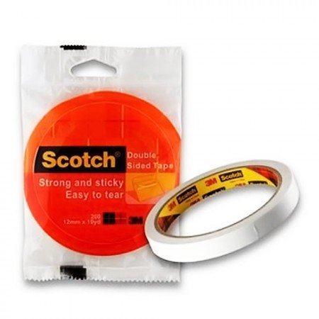 SCOTCH 200S Double Sided Tape 7000040167 12mmx10y