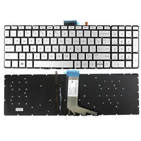 HP Keyboard Envy M6-W M6-W000 M6-W100 X360 Silver With Backlit