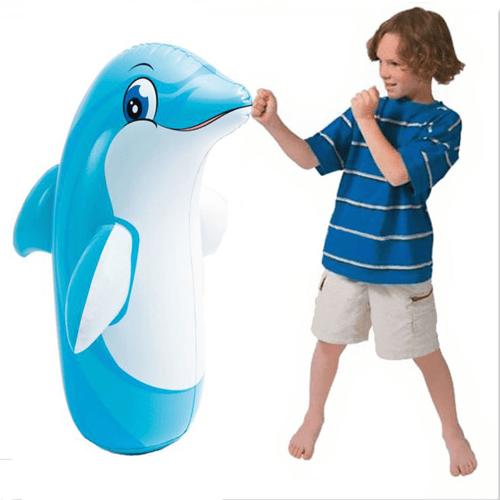 Intex Boneka Tinju 3D Bob Dolphin