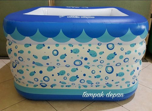 NINEBOX Doctor Dolphin Baby Spa Swimming Pool Free Pompa