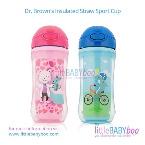 Dr. Brown's Insulated Straw Sport Cup
