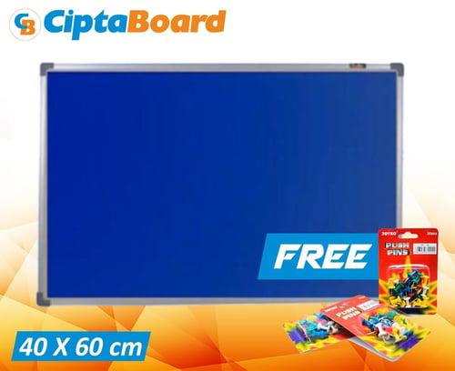 CIPTA BOARD Softboad Bludru 40 x 60cm