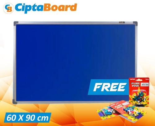 CIPTA BOARD Softboad Cipta Bludru 60 x 90cm