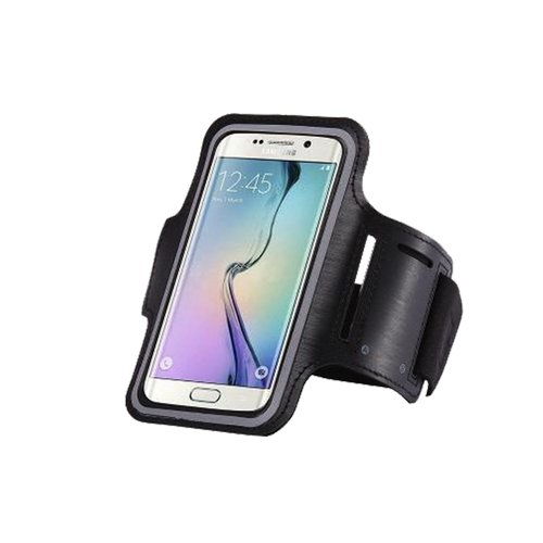 long Armband for Smartphone 5 inch - Black (008)