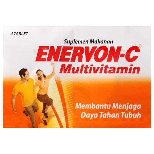 ENERVON C MULTIVITAMIN 1 AMPLOP ISI 4 TABLET