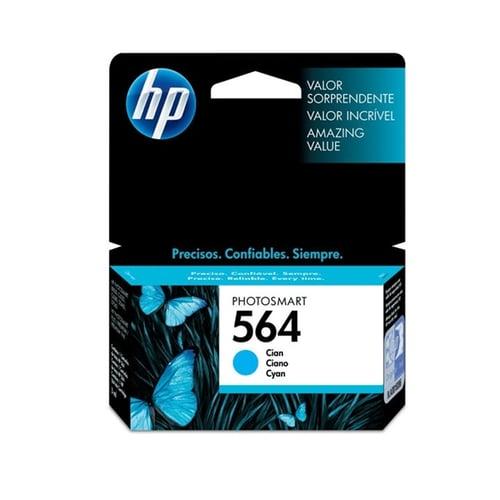 HP Tinta Ink Cartridge Original 564 CB318WA Cyan