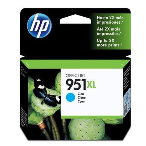 HP Tinta Ink Cartridge Original 951XL CN046AA Cyan