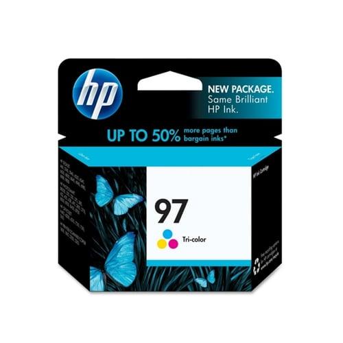 HP Tinta Tri-Color Ink Cartridge Original 97 C9363WA