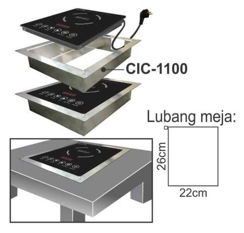 Getra CIC-1100 Casing for Induction cooker IC-1100/Casing untuk kompor induksi type IC-1100