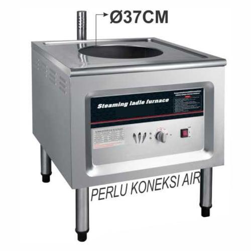 Getra Economic Gas Steamer/Mesin pengukus dan penghangat makanan