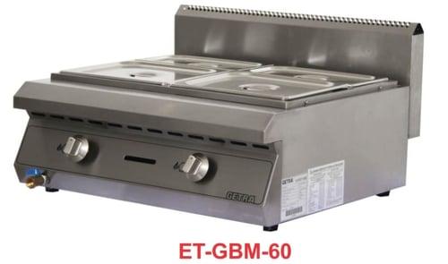 Getra ET-GBM-60 Gas bain marie/mesin pengukus,penghangat dan memajang makanan siap saji
