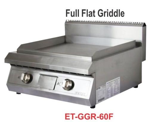 Getra ET-GGR-60F Gas Flat griddle/pemanggang steak,ikan,dll