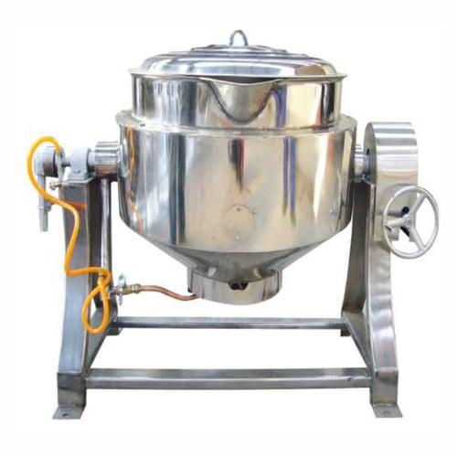 Getra RC-05E Gas Tilting Kettle/Alat untuk memasak makanan dalam jumlah banyak