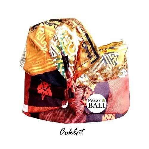Udeng Jadi Bali Kotak Coklat