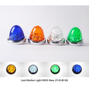 Led Marker Light KM3 New Plastic Cover