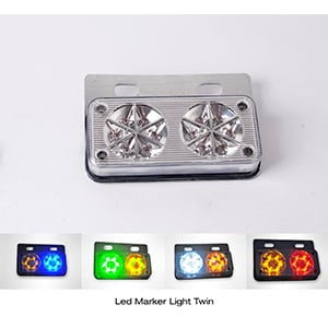 Led Marker Light Twin