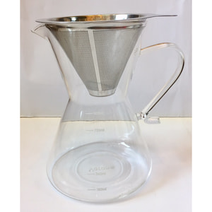 Coffee Server With Mesh Metal Filter 800ml