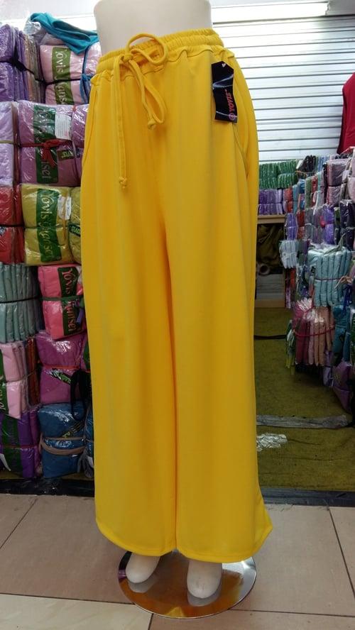 Celana Kulot All Size - Yellow