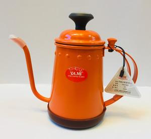 YAMI Gooseneck Kettle With Thermometer Orange 700ml