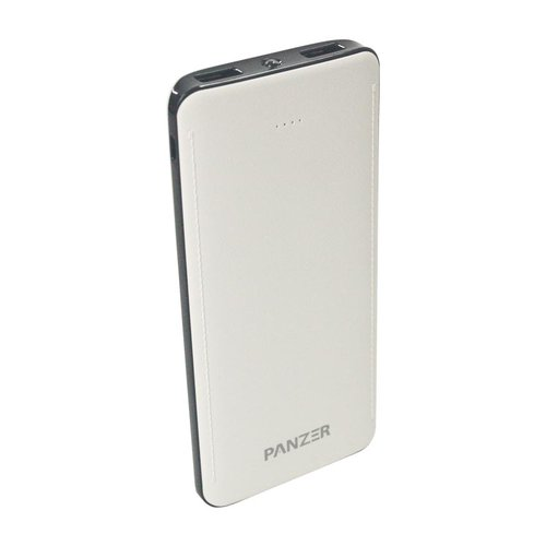 PANZER Powerbank 10000mAh Real Capacity and Fast Charging - Putih
