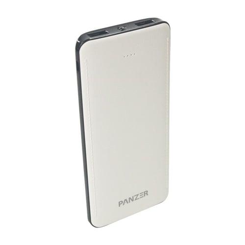 PANZER Powerbank 10000mAh Real Capacity and Fast Charging Putih