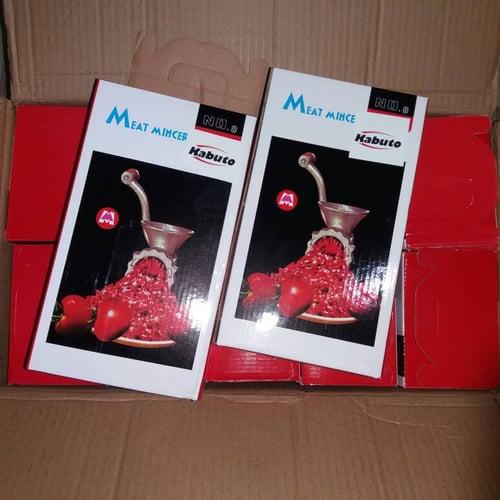 Meat Mincer No 8 GILINGAN BESI Grinder Manual utk Menggiling Daging Mie Getuk Bumbu Kacang Pecel dll