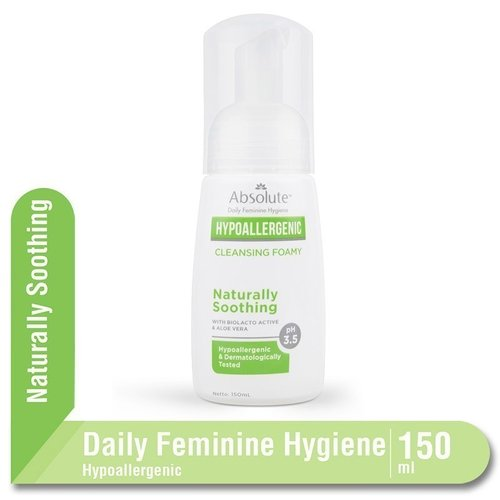 ABSOLUTE Hypoallergenic Cleansing Foamy Naturally Soothing 150ml
