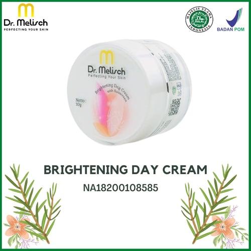 Brightening Day Cream Dr Melisch Kualitas Terbaik Untuk Perawatan Wajah