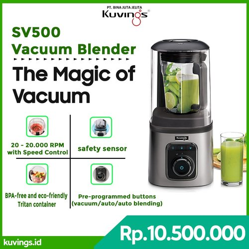 Kuvings Vacuum Blender SV500M Silver