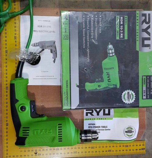 Ryu Mesin Bor 10 MM RDR10-3RE Mesin Bor Tangan 10 MM Variable
