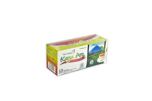 Kayu Aro Black Tea Celup 2gr 1 Box Isi 25 Sachet