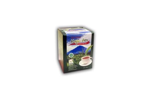 Kayu Aro Black Tea Bubuk 50gr Kemasan Karton