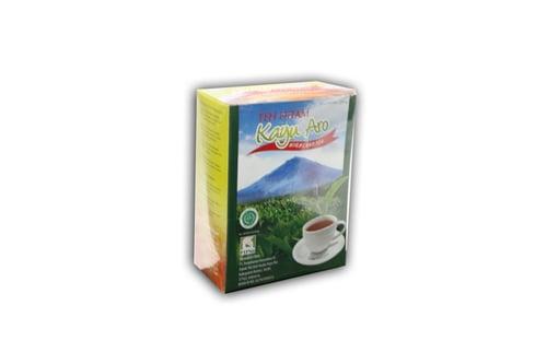 Kayu Aro Black Tea Bubuk 250gr Kemasan Karton