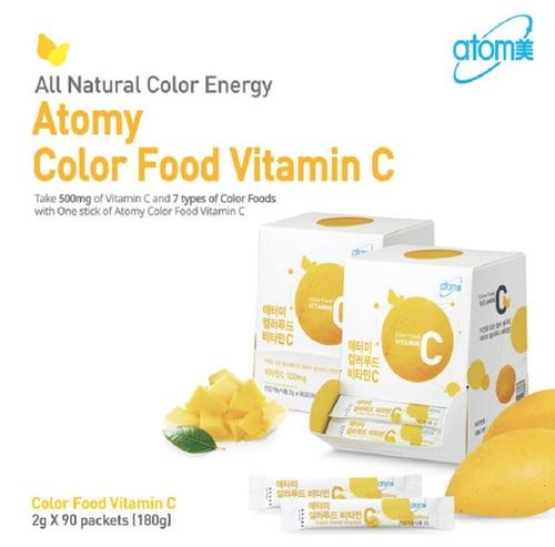 Atomy Color food Vitamin C 500mg / Sachet Original From Korea