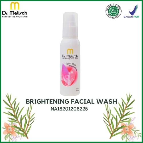 Brightening Facial Wash Dr Melisch Kualitas Terbaik Untuk Pembersih Wajah