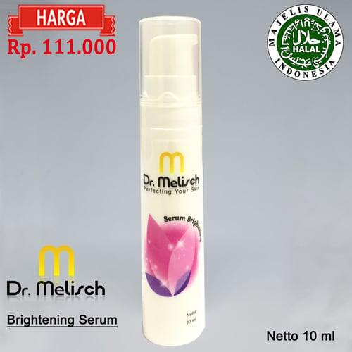Brightening Serum Dr Melisch Kualitas Terbaik Untuk Memutihkan Wajah