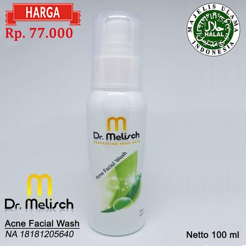 Acne Facial Wash Dr Melisch Kualitas Terbaik Untuk Merawat Wajah Berjerawat